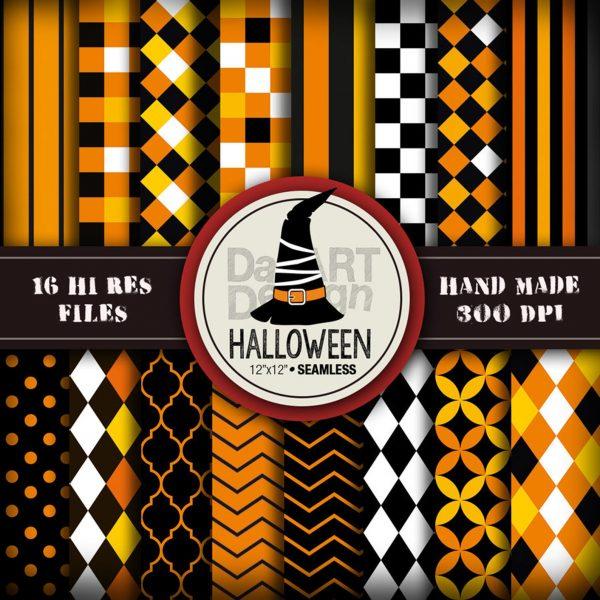 Halloween Digital paper pack