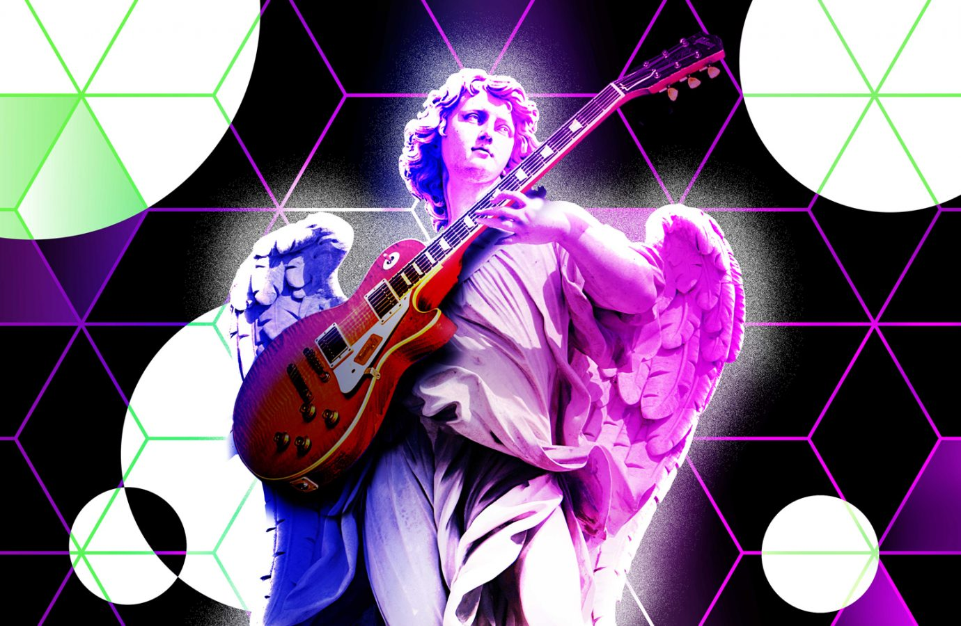 NFT - Guitarist Angel