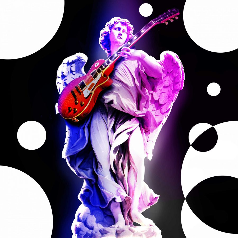 NFT-The Angel Plays the guitar